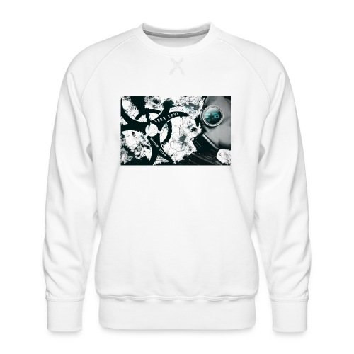 gas mask - Männer Premium Pullover