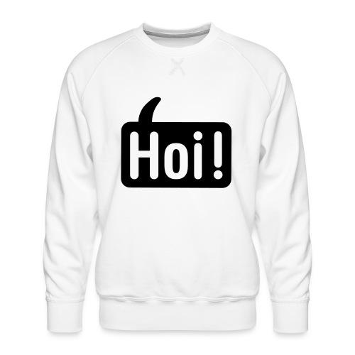 hoi front - Mannen premium sweater