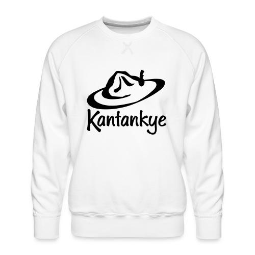logo hoed naam - Mannen premium sweater