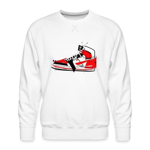 Destrukt my Shoes by MiZAl Touch Concept - Bluza męska Premium