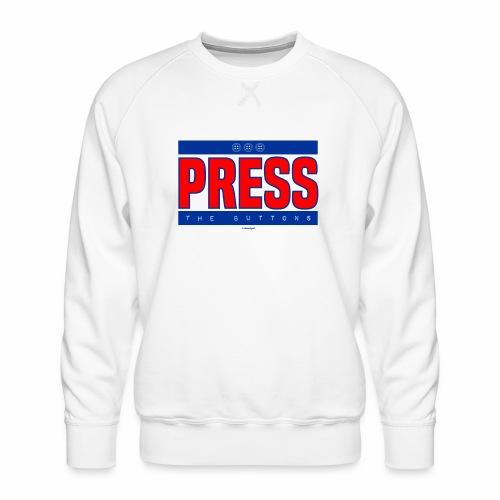 Press the buttons - Mannen premium sweater