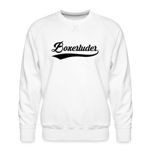 Motorrad Fahrer Shirt Boxerluder - Männer Premium Pullover