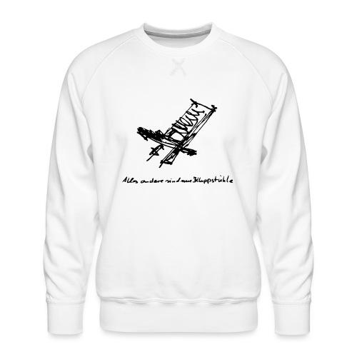 Schwedenstuhl - Männer Premium Pullover