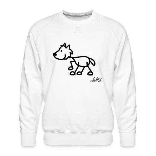 wolf - Männer Premium Pullover
