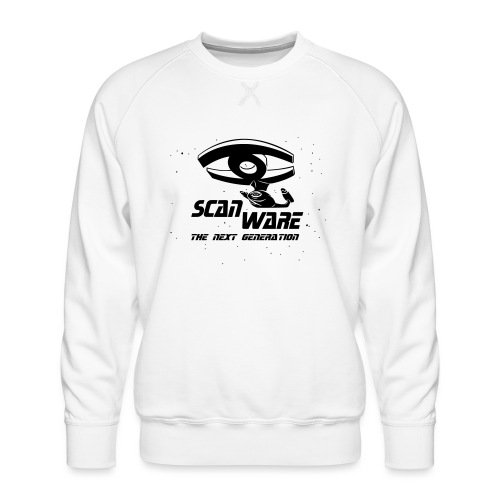 scanware azubiShirt - Männer Premium Pullover