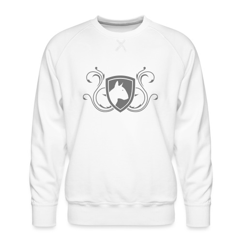 Bullterrier Wappen 1c - Männer Premium Pullover