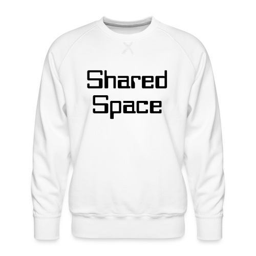 Shared Space - Männer Premium Pullover