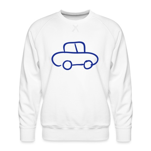Van Line Drawing Pixellamb - Männer Premium Pullover
