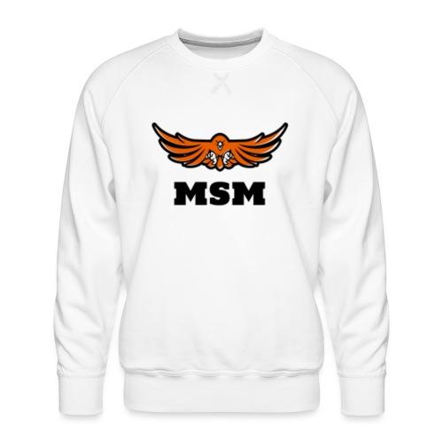 MSM EAGLE - Herre premium sweatshirt