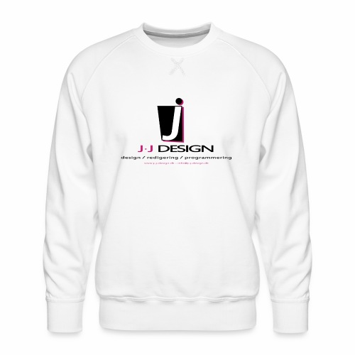 LOGO_J-J_DESIGN_FULL_for_ - Herre premium sweatshirt