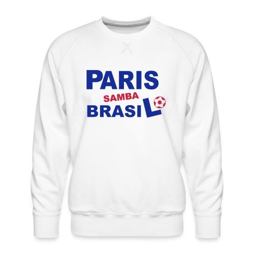 paris_brasil - Sweat ras-du-cou Premium Homme