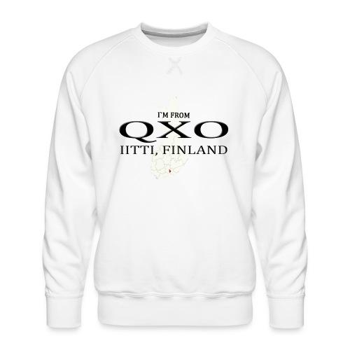 QXO - Miesten premium-collegepaita
