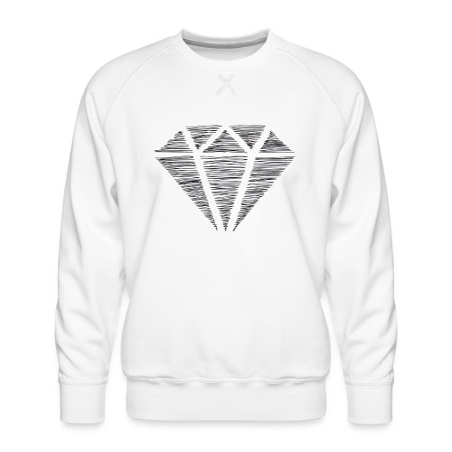 Diamante - Sudadera premium para hombre