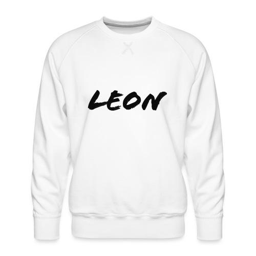 Leon - Sweat ras-du-cou Premium Homme
