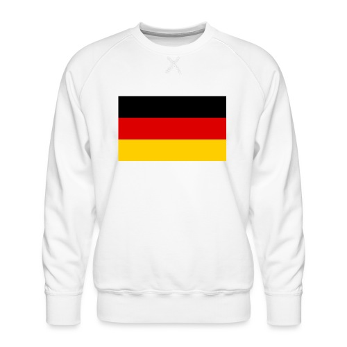 2000px Flag of Germany svg - Männer Premium Pullover