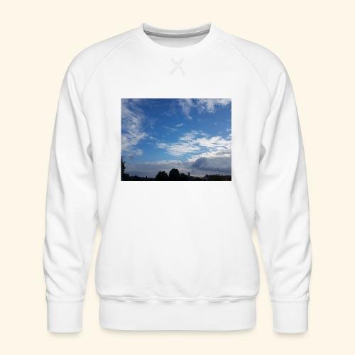 himmlisches Wolkenbild - Männer Premium Pullover
