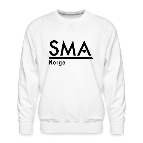 SMA Norge logo - Premium-genser for menn