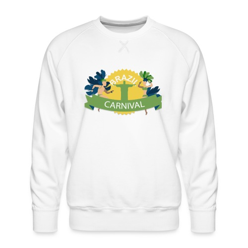 Encontro Carnaval Rio de janeiro - Men's Premium Sweatshirt