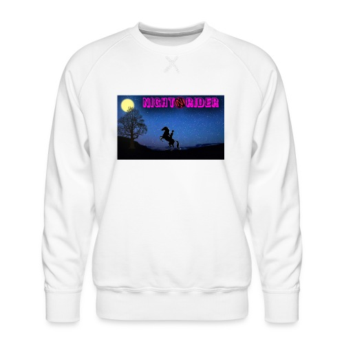 nightrider merch - Herre premium sweatshirt
