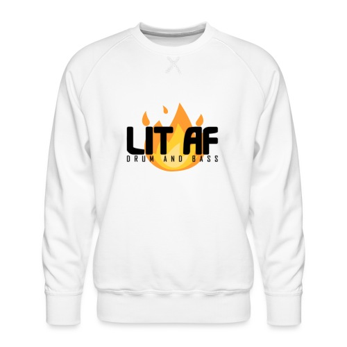 LIT AF Drum and Bass - Männer Premium Pullover