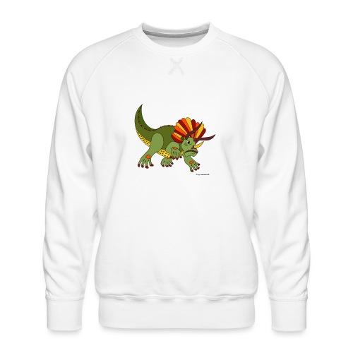 Rhino das wütende Urtier - Männer Premium Pullover