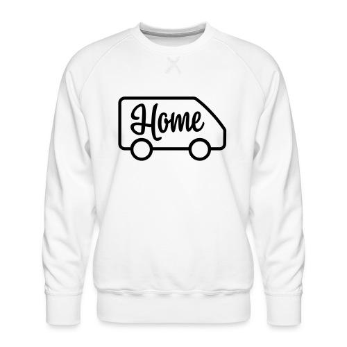 camperhome03a - Premium-genser for menn