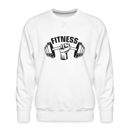 FITNESS - Herre premium sweatshirt