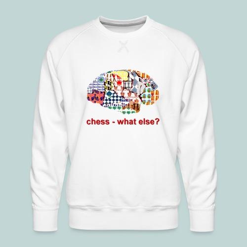 chess_what_else - Männer Premium Pullover