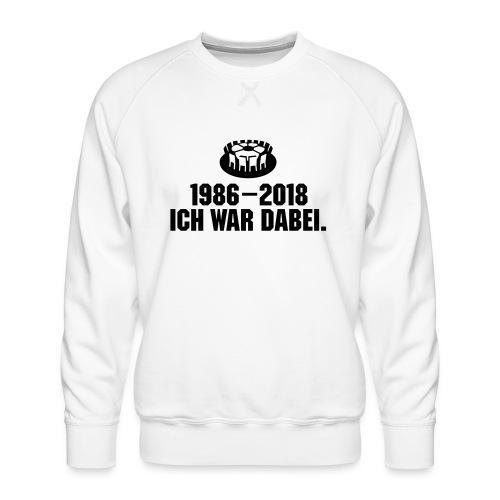 1986-2018 - Männer Premium Pullover