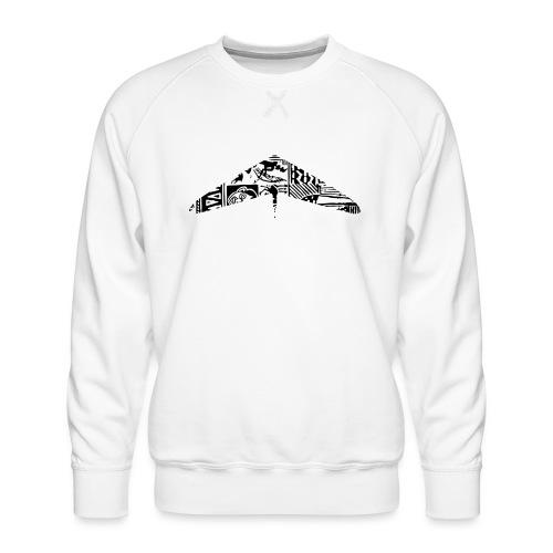 hanggliding pattern - Men's Premium Sweatshirt