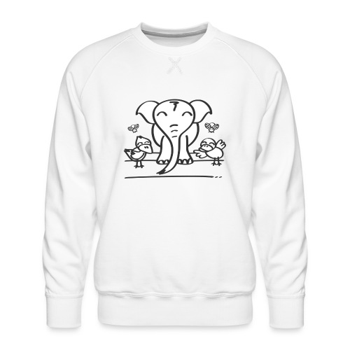78 elephant - Männer Premium Pullover