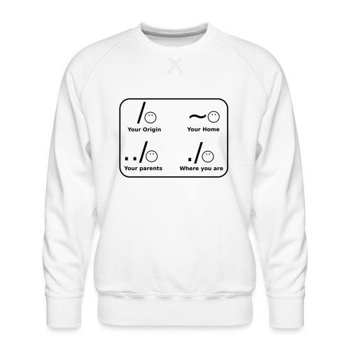 (slash_spreadshirt) - Männer Premium Pullover