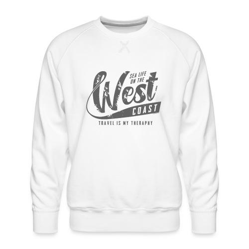 West Coast Sea Surfer Textiles, Gifts, Products - Miesten premium-collegepaita