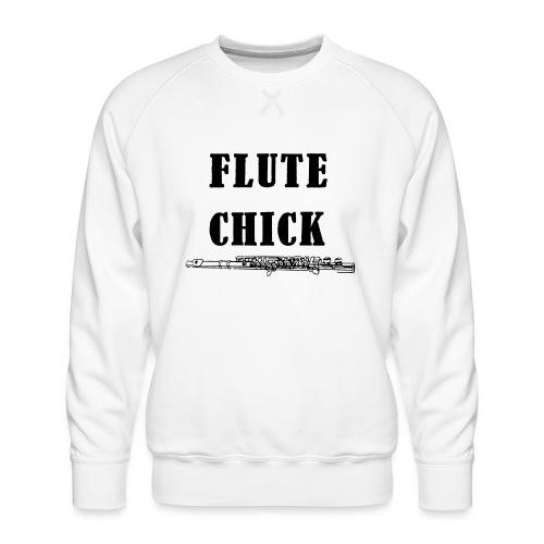 Flute Chick - Premium-genser for menn