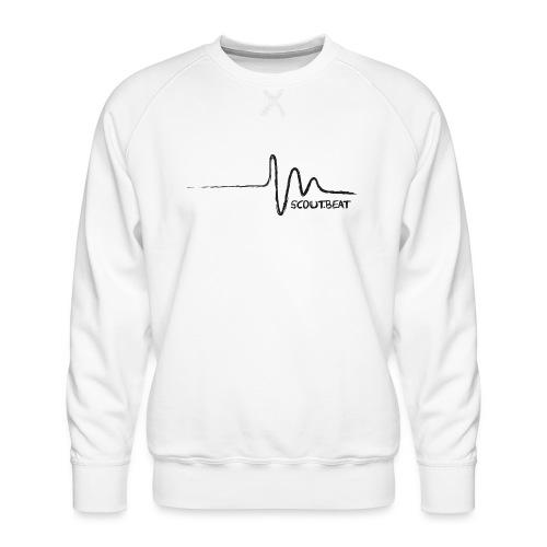 SCOUT.beat – Herzschlag – Schwarz - Männer Premium Pullover