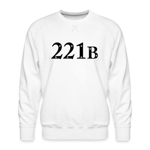 Sherlock Holmes - 221B - Männer Premium Pullover
