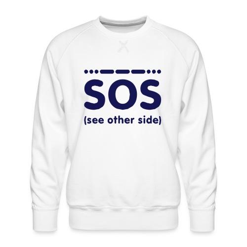 SOS - Mannen premium sweater