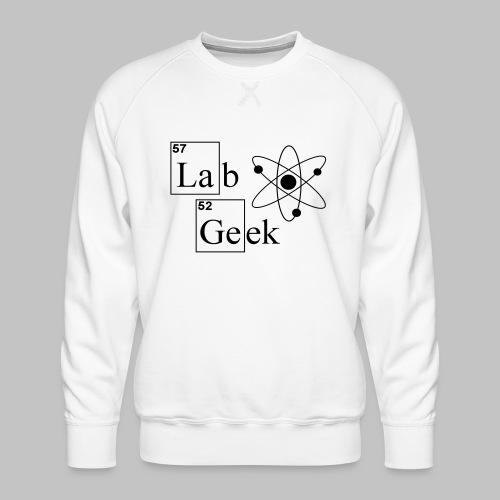 Lab Geek Atom - Men's Premium Sweatshirt