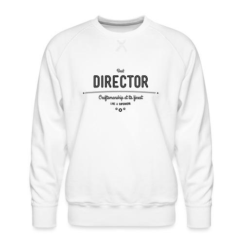 Bester Direktor - Handwerkskunst vom Feinsten, wie - Männer Premium Pullover