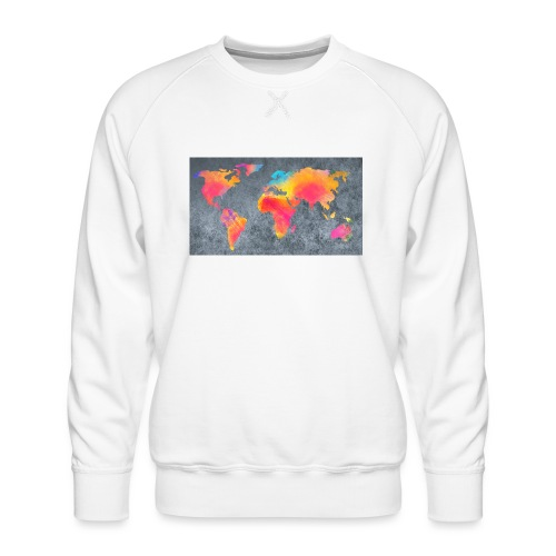 World 3 - Männer Premium Pullover