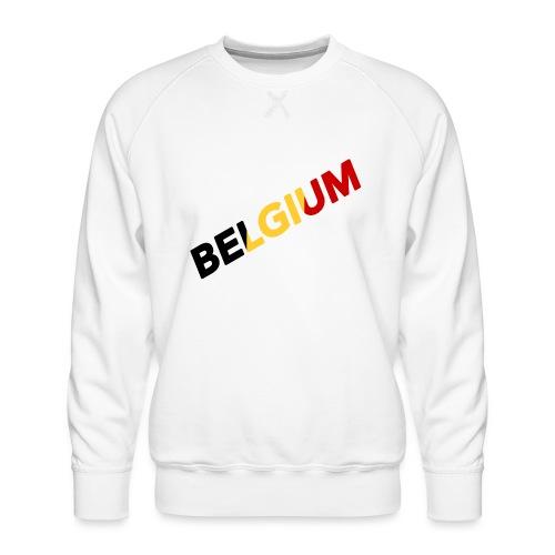 BELGIUM - Sweat ras-du-cou Premium Homme