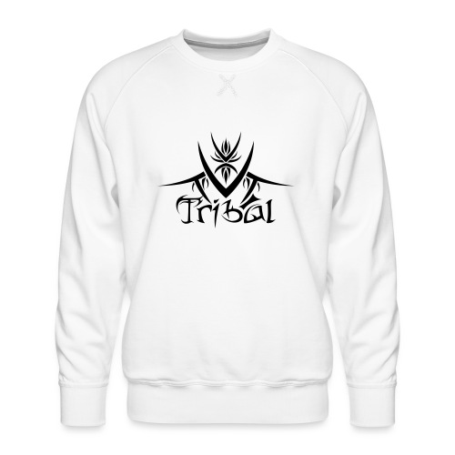Motif Tribal 1 - Sweat ras-du-cou Premium Homme