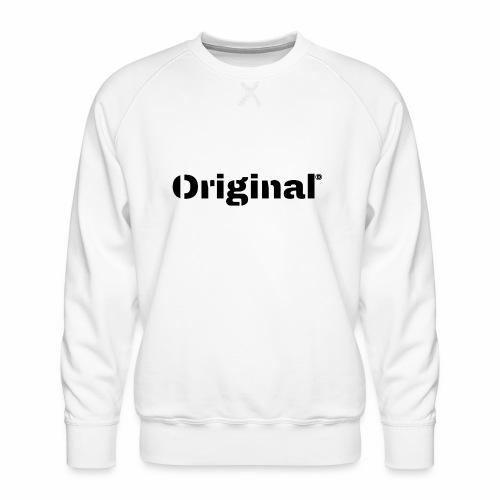 Original, by 4everDanu - Männer Premium Pullover