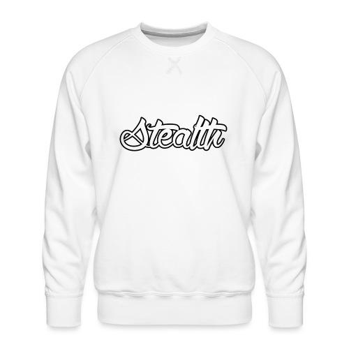 Stealth White Merch - Men's Premium Sweatshirt