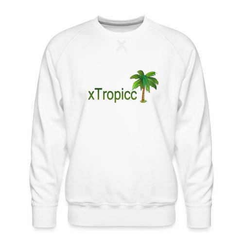 tropicc - Sweat ras-du-cou Premium Homme