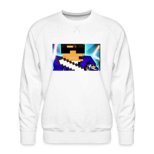 DAVID GAMING LOGO 2 - Männer Premium Pullover