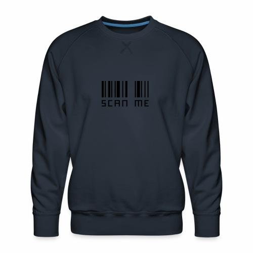 SCANNE MOI - Sweat ras-du-cou Premium Homme