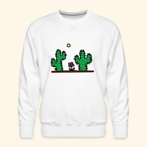 Cactus - Felpa premium da uomo
