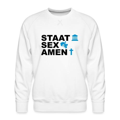 Staatsexamen / Staat Sex Amen - Männer Premium Pullover