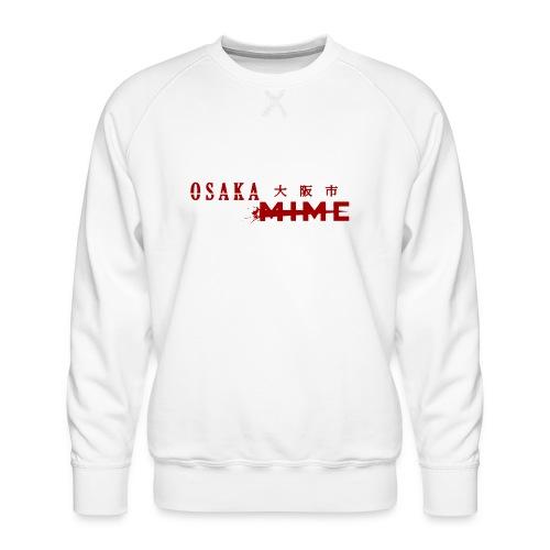 Osaka Mime Logo - Men's Premium Sweatshirt